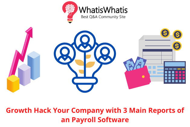 Growth Hack Your Company with 3 Main Reports of an Payroll Software