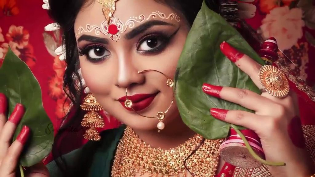 Traditional Bengali Wedding Look