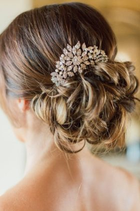 Head Piece With Messy Bun hairstyles