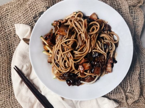 Korean Cuisine jajangmyeon