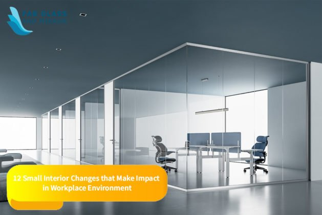 12 Small Interior Changes that Make Impact in Workplace Environment