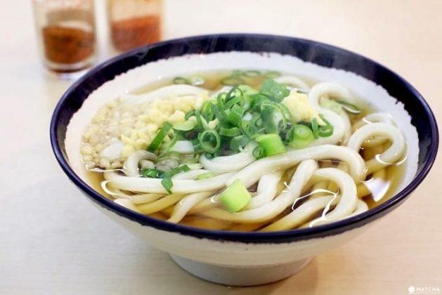 Japanese dish udon