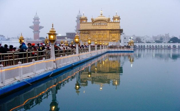 The heritage city of Amritsar