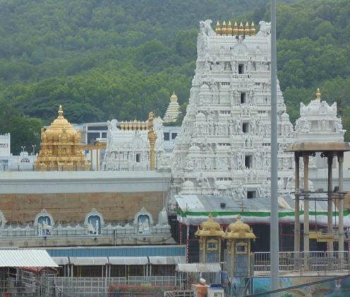 Tirupati in India