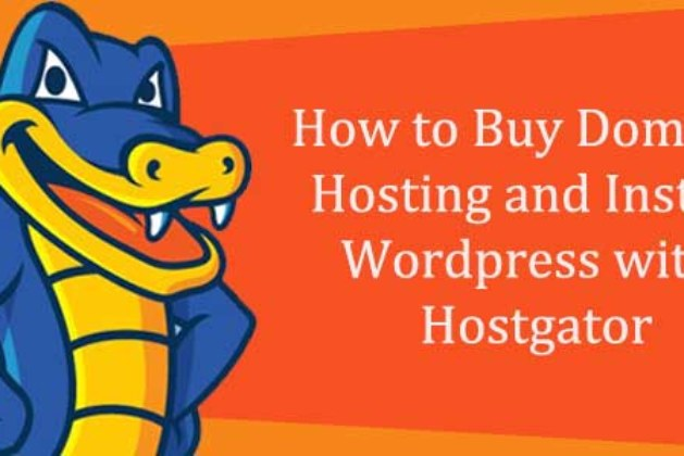 How to Buy Domain, Hosting and Install WordPress with Hostgator?