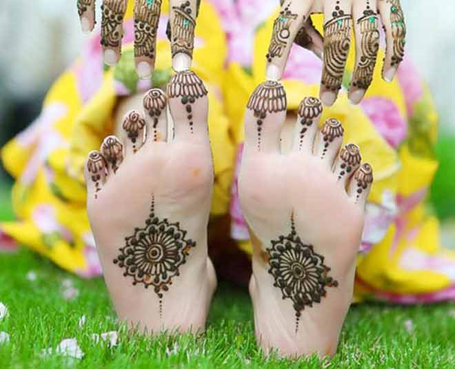 Mehndi Design for Soles