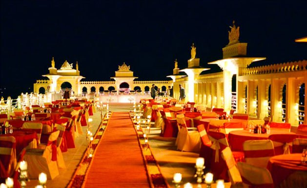 Wedding Palace and Forts