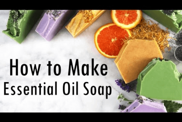 How To Make An Easy Homemade Soap With Essential Oils