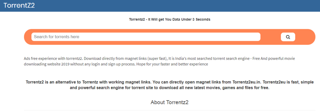 Torrentz Ebook Torrent Sites