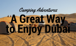 Activities To Enjoy When You Are In Dubai