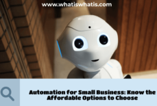 Automation for Small Business: Know the Affordable Options to Choose