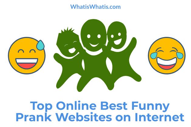 Top Online BestFunny Prank Websites on Internet