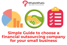 Simple Guide to choose a financial outsourcing company for your small business