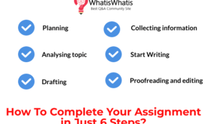 Complete Your Assignment in Just 6 Steps