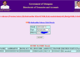 How to Check Rythu Bandhu Status?