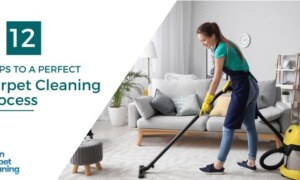 12 Steps To A Perfect Carpet Cleaning Process