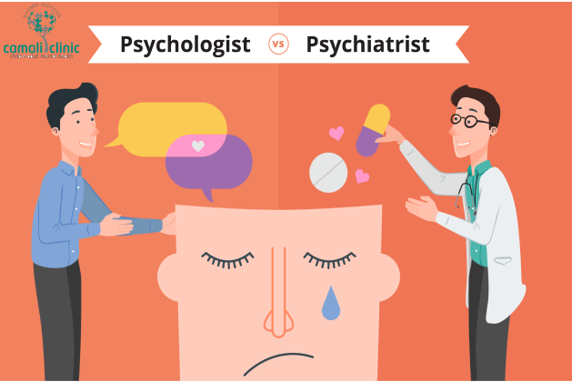 Learning the Difference Between Psychiatrist and a Psychologist