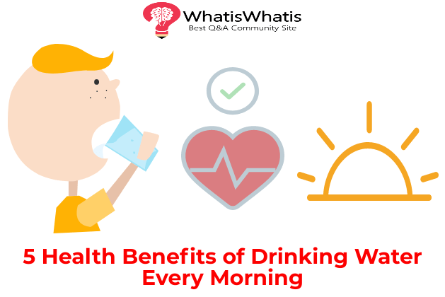 5 Health Benefits of Drinking Water Every Morning