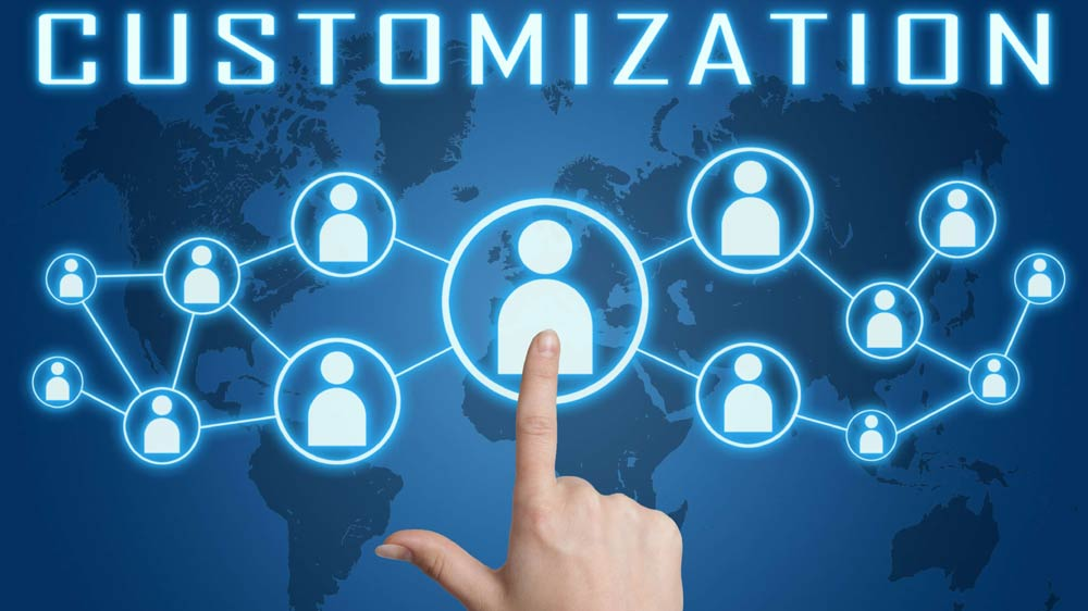 Customization part in marketing trends