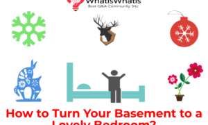 How to Turn Your Basement to a Lovely Bedroom?