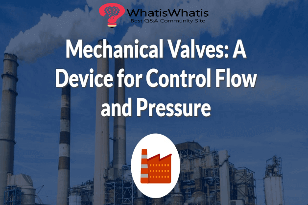 Mechanical Valves: A Device for Control Flow and Pressure