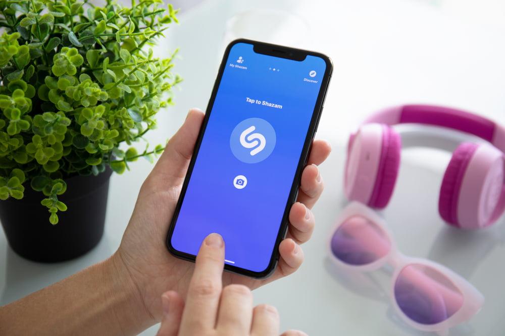 Shazam-music app