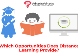 Which Opportunities Does Distance Learning Provide?