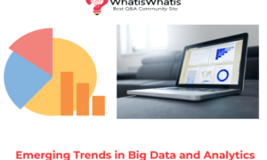 Emerging Trends in Big Data and Analytics