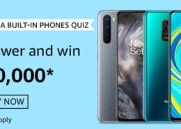 Amazon Alexa Built-in Phones Quiz Answers: Win Rs 10,000