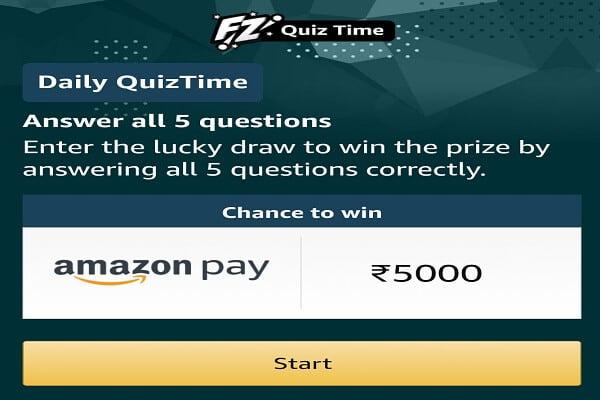 Amazon Quiz Answers Today 24th Feburary 2021