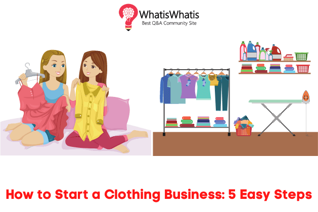 How to Start a Clothing Business: 5 Easy Steps