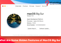 What Are Some Hidden Features of macOS Big Sur?
