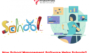 How School Management Software Helps Schools