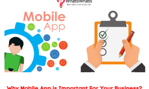 Why Mobile App is Important For Your Business?
