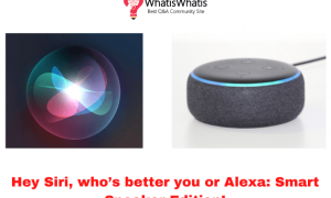 Hey Siri, who's better you or Alexa: Smart Speaker Edition!
