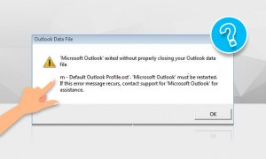 How to Fix Default Outlook Profile.ost Cannot be Opened?